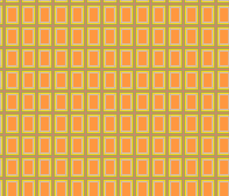 OhBoyPlaid-Orange fabric by tammikins on Spoonflower - custom fabric