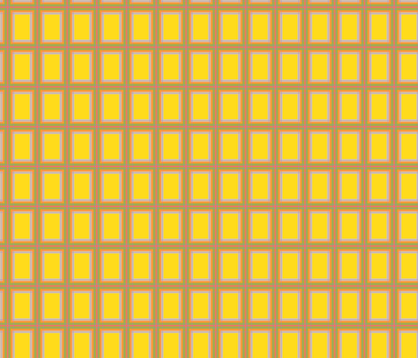 GoGirlPlaid-Yellow fabric by tammikins on Spoonflower - custom fabric