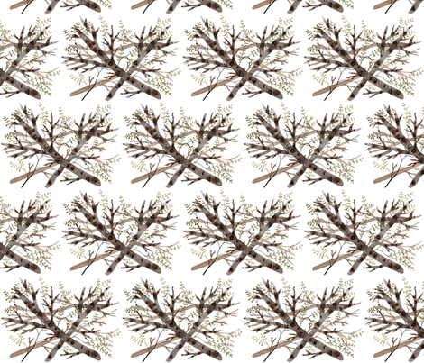 Thicket  fabric by gollybard on Spoonflower - custom fabric
