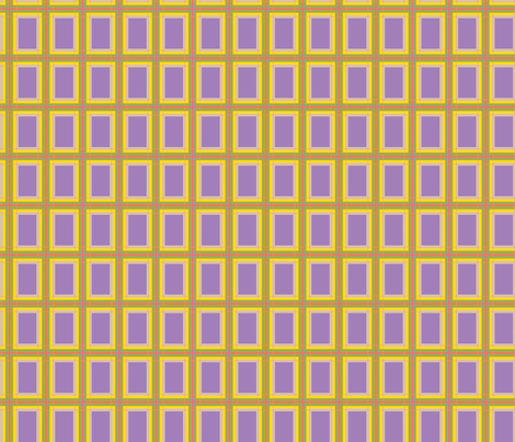 GoGirlPlaid-Purple fabric by tammikins on Spoonflower - custom fabric