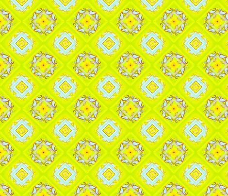 Yella Paisley fabric by joanmclemore on Spoonflower - custom fabric