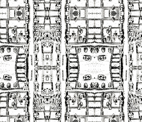 british_map_1559_single fabric by thatswho on Spoonflower - custom fabric