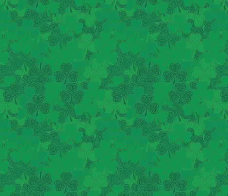 ShamrockShower2011 fabric by nikky on Spoonflower - custom fabric