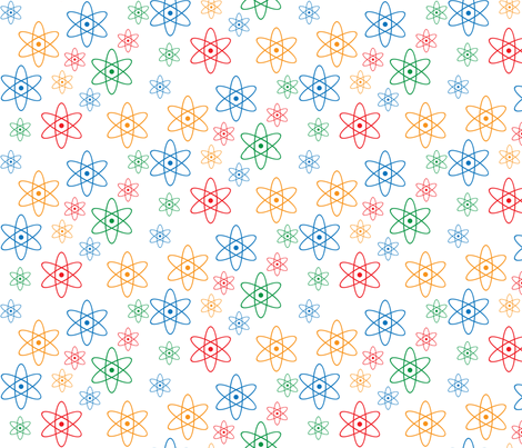 Atomic Orbits fabric by robyriker on Spoonflower - custom fabric
