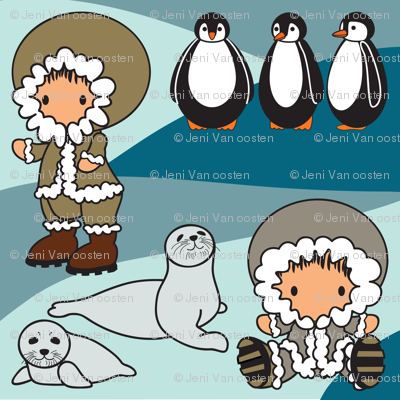 Go with the Floe - Arctic-Characters1a