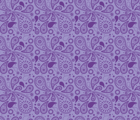 paisley_swatch fabric by crowlands on Spoonflower - custom fabric