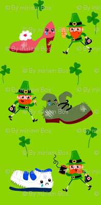 Leprechauns fix shoes!