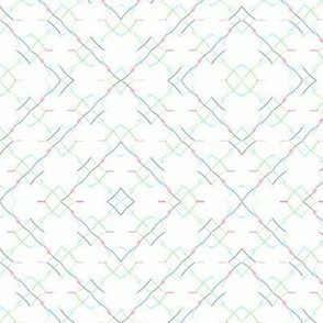 Dotted Lines 3x3