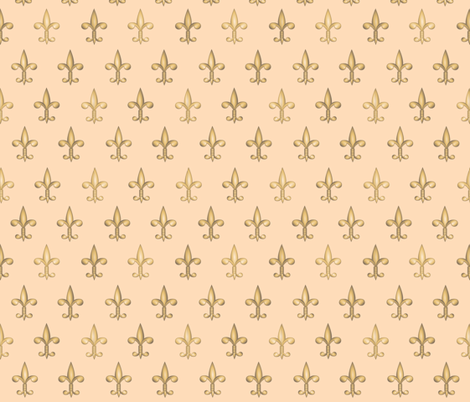 ©2011 fleurdelis 208 fabric by glimmericks on Spoonflower - custom fabric