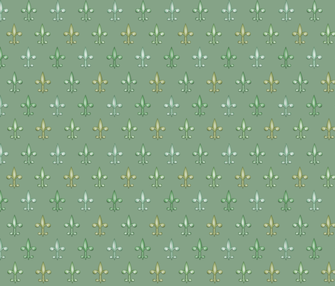 ©2011 fleurdelis 212 fabric by glimmericks on Spoonflower - custom fabric