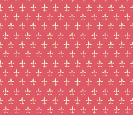 ©2011 fleurdelis 213 fabric by glimmericks on Spoonflower - custom fabric