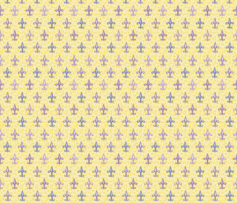 ©2011 fleurdelis 222 fabric by glimmericks on Spoonflower - custom fabric