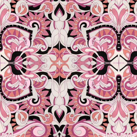St Valentine's Hideaway fabric by edsel2084 on Spoonflower - custom fabric