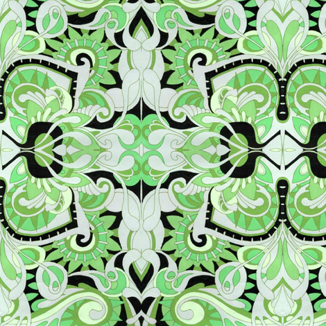 St Patricks Hideaway fabric by edsel2084 on Spoonflower - custom fabric