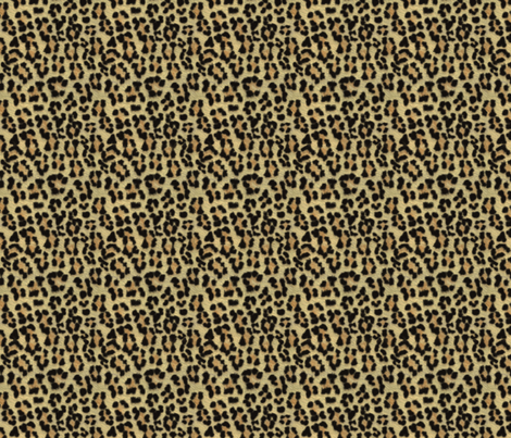 ©2011 leopard print fabric by glimmericks on Spoonflower - custom fabric