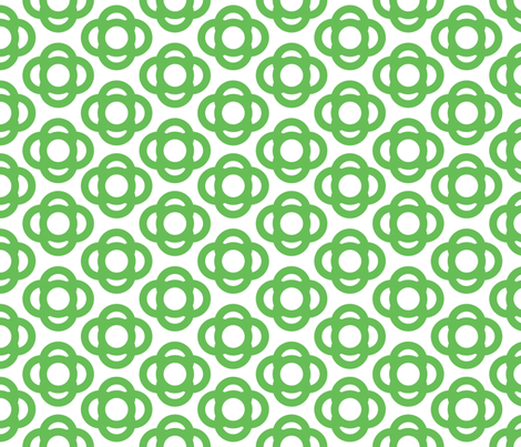 green_cloud fabric by flowerpress on Spoonflower - custom fabric