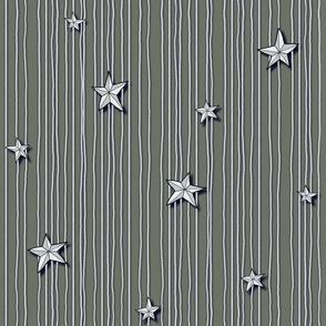 Paper Stars Brown