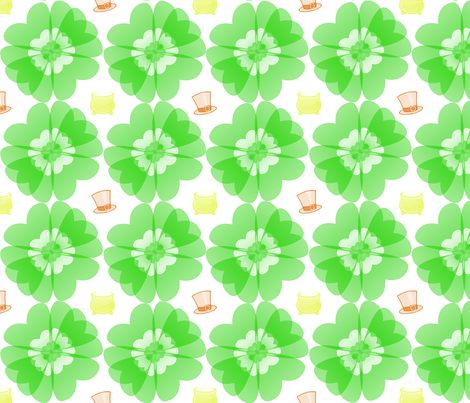 Leprechaun_Spoonflower fabric by regalneedle on Spoonflower - custom fabric
