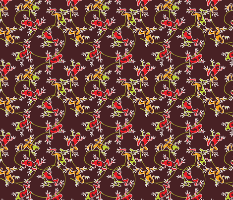 baby leaps fabric by luana_life on Spoonflower - custom fabric