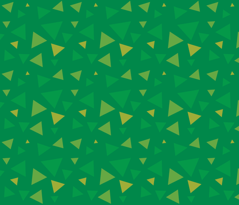 Triangle Grass fabric by mockturtle on Spoonflower - custom fabric