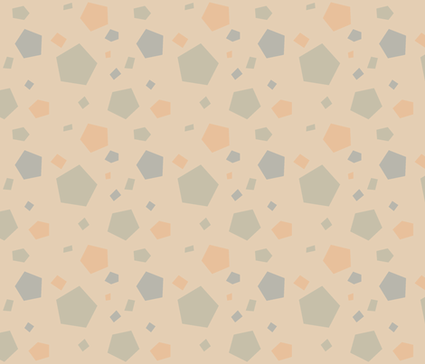 Pentagon Soil fabric by mockturtle on Spoonflower - custom fabric