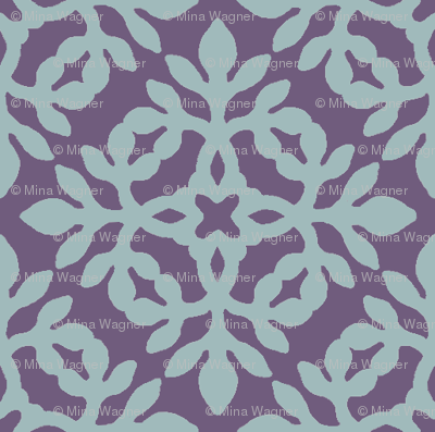 EGGPLANT_&_soft-aqua_mini-papercut