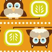 Owl Town Orange