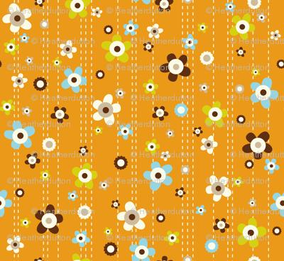 Flower Shower Orange