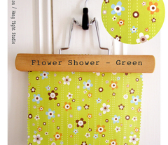 Flower Shower Green