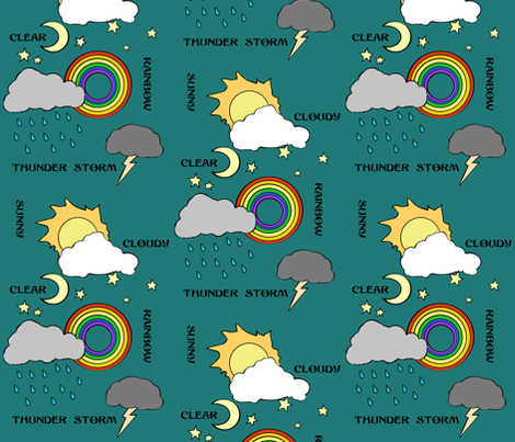 Weather fabric by pond_ripple on Spoonflower - custom fabric