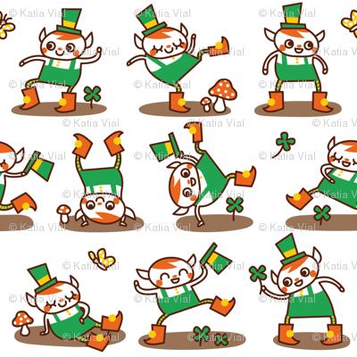 Dancing Leprechauns