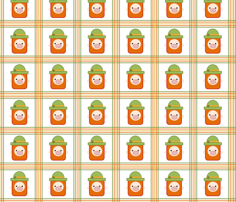 Leprechaun plaid fabric by galyangirls on Spoonflower - custom fabric