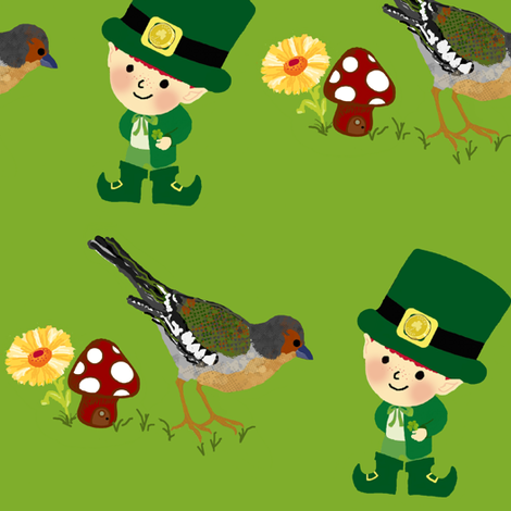 luck of the irish fabric by paragonstudios on Spoonflower - custom fabric