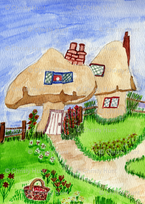 Toadstool Village