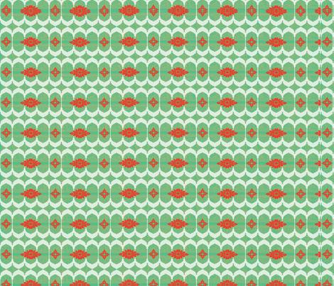 Windows_Henna_Red fabric by sadie_lou on Spoonflower - custom fabric