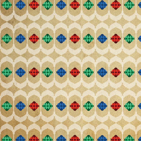 Windows_Lotus_2 fabric by sadie_lou on Spoonflower - custom fabric