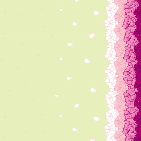 Miniature Flower Border fabric by candyjoyce on Spoonflower - custom fabric