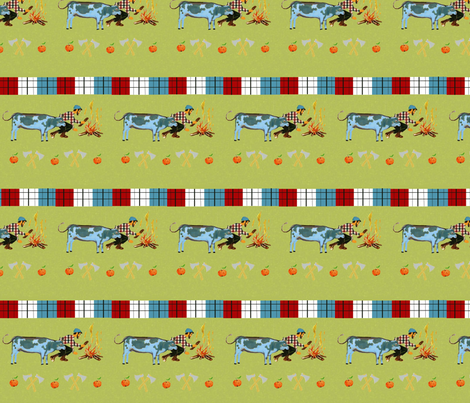 Paul Bunyan fabric by itybitybags on Spoonflower - custom fabric