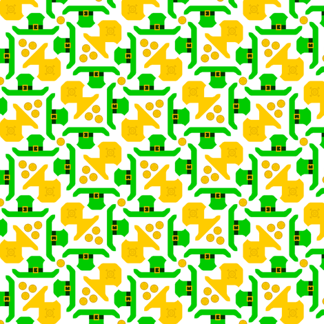 celtlep toss fabric by sef on Spoonflower - custom fabric