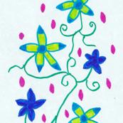 Flora Flower Bluemoo