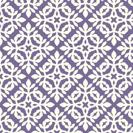 PURPLE & cream mini-papercut2