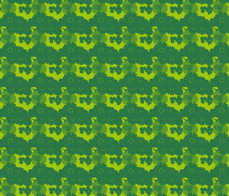 GREEN SHADES fabric by rke on Spoonflower - custom fabric