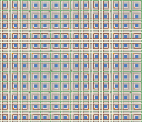 Colors of Spring 2011: Plaid fabric by jazilla on Spoonflower - custom fabric