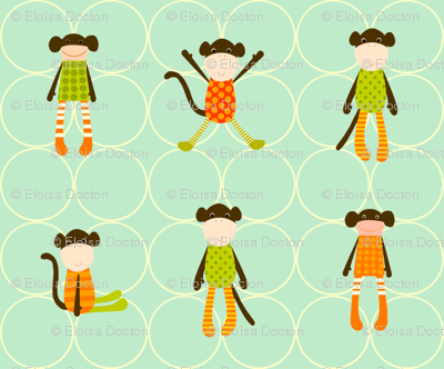 Cuddly Monkeys for Project Selvage