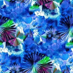 Mosaic Star Flowers