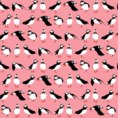 just puffins pink small