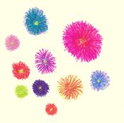 Flora Flower Pompons