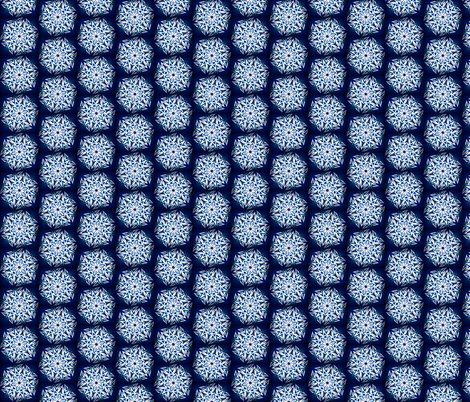 Flake1 - Daisy (dark) fabric by cricketswool on Spoonflower - custom fabric