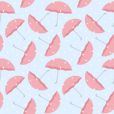 April shower fabric by martinaness on Spoonflower - custom fabric