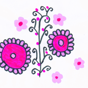 Flora Flower Lavia